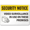 Security Notice - Video Surveillance In Use On These Premises 18 x 12