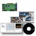 NUUO MPEG-4, 8CH, 60FPS DVR Card