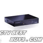 GeoVision - 84-POE0400-001U - GV-POE0400 - 4 port PS-254-at 70W 802.3at