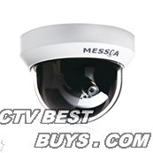 2 MP/1080P, H.264/ MPEG4/ MJPEG Color All-In-One IP dome, 15fps, 4mm megapixel lens, PoE, indoor dome