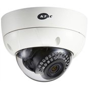 KT&C KPC-VNN101NHB 550TVL, IR3.7mm, Dual power, 3-axis, 30 LED's, IR Dist 100ft, IP66, Ivory Body, Surface Mount included