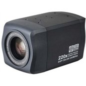 KT&C KPC-ZAK220NH 600TVL, 0.6Lux, Color,1/4 Sony CCD,High-Res,20X Optical/10X Digital Zoom, 3D-DNR, DWDR, DC12V