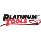 Platinum Tools - 18012 - F RG59 Compression Connector. Nickel plate. 10 pc. Clamshell.